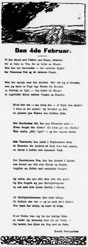 70 års rim Brandes digtet 70 års rim